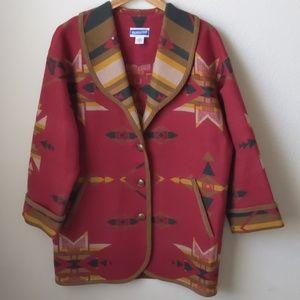 Vintage Pendleton Knockabouts Wool Coat, M